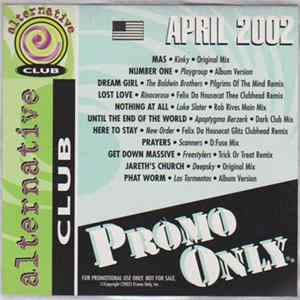 Various - Promo Only Alternative Club April 2002 MP3