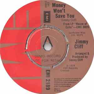 Jimmy Cliff - Money Won't Save You MP3