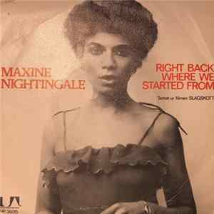 Maxine Nightingale - Right Back Where We Started From MP3